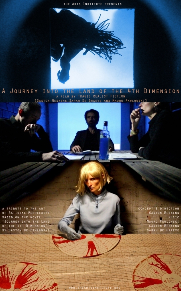 affiche - A Journey into the Land of the 4th Dimension