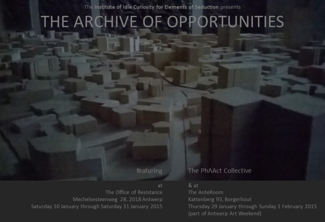the archive of opportunities  - 1