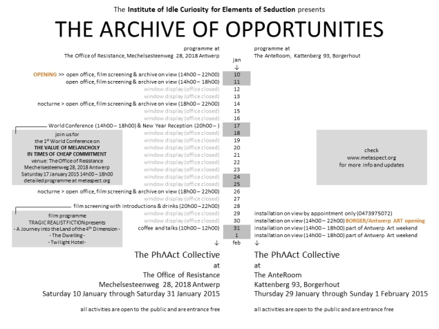 the archive of opportunities - 2