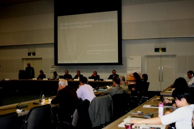 Public session on Fukushima, United Nations University, 15 November 2015, Tokyo, Japan
